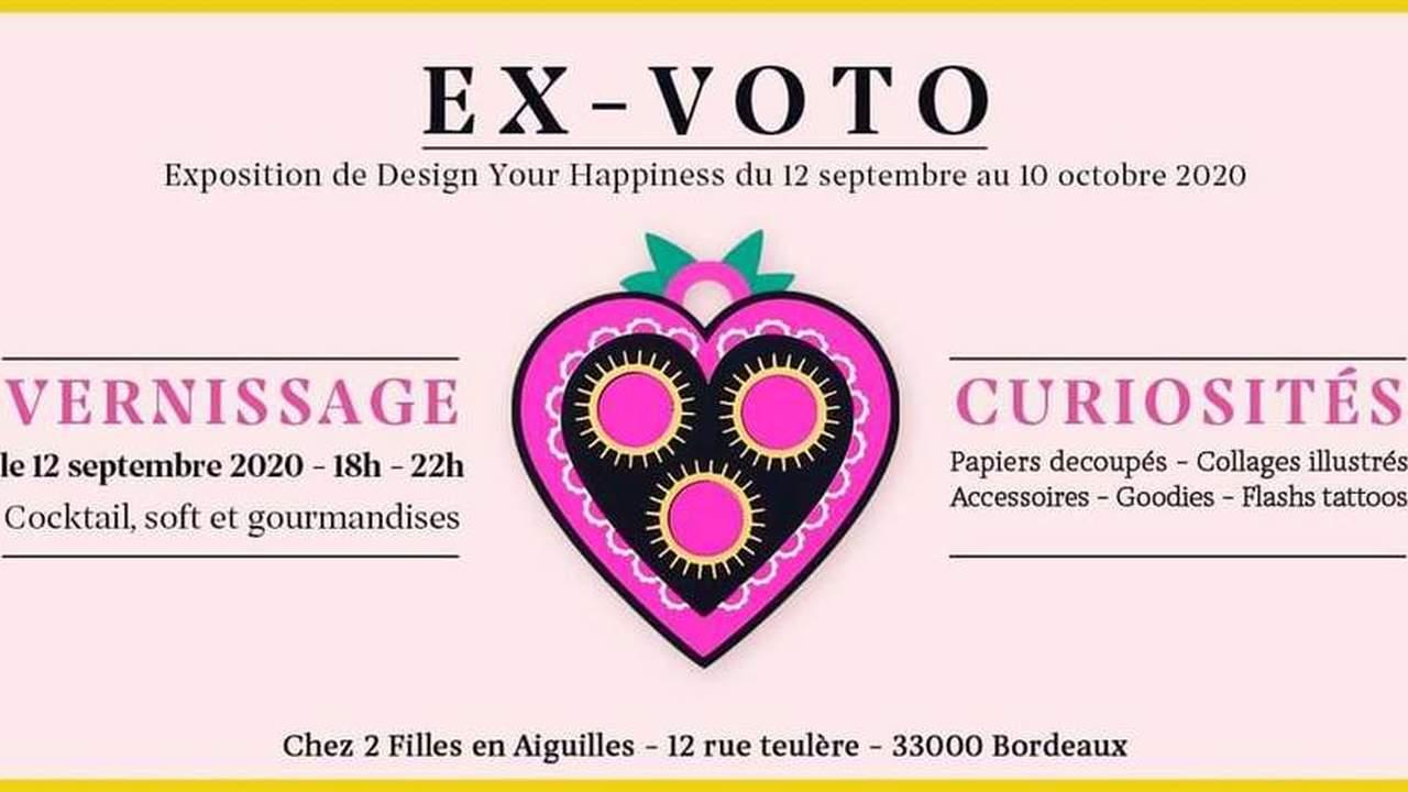 Ex-voto : Exposition Sacrée + Vernissage