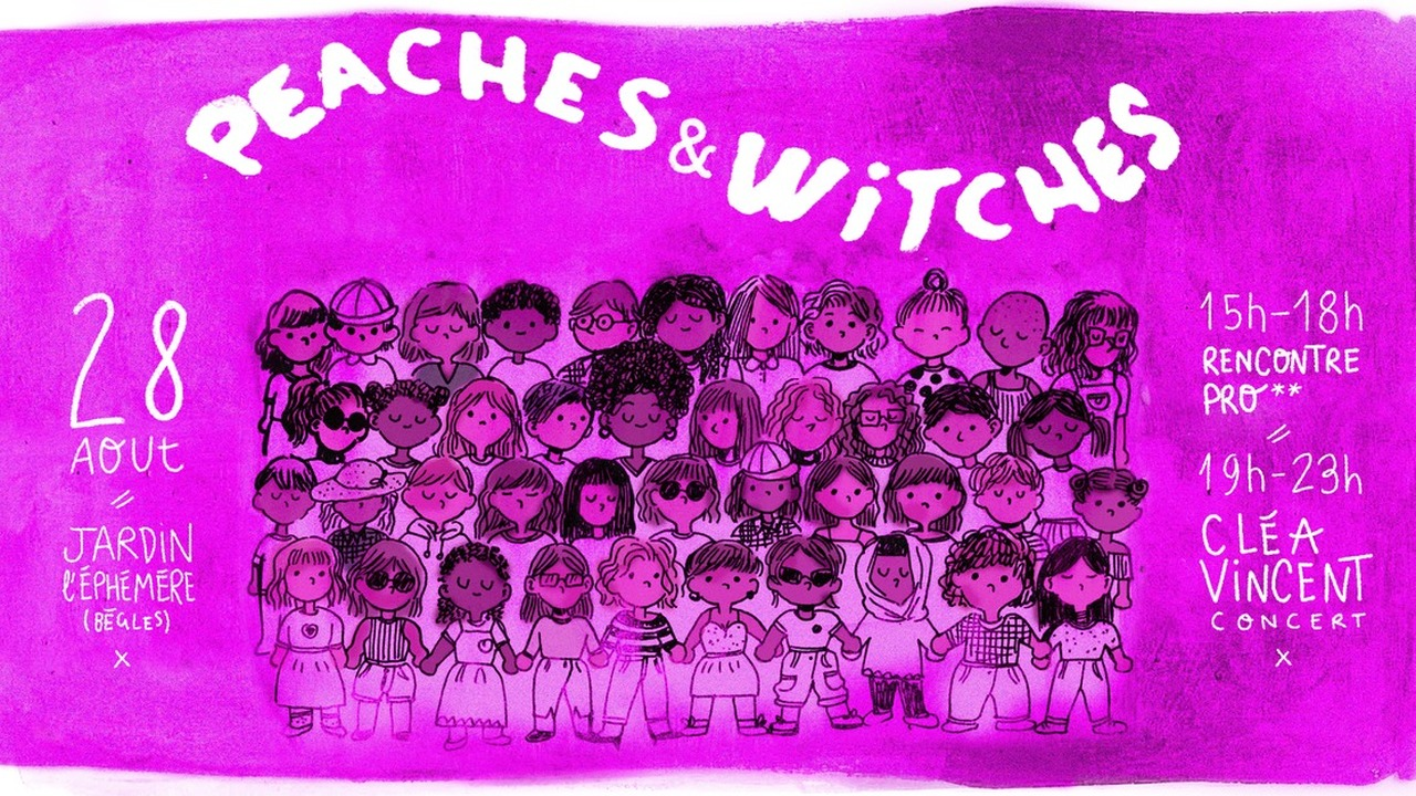 Peaches & Witches #1 - Cléa Vincent + LaGronde (DJset)