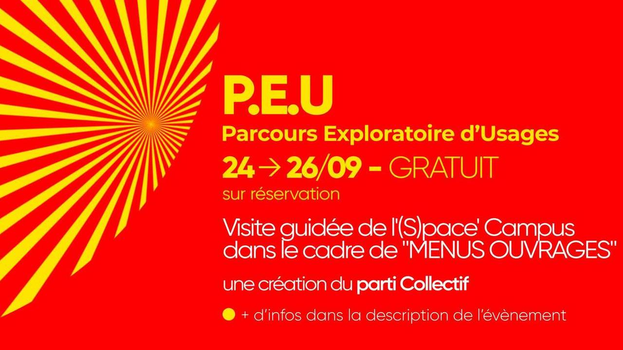 Les Campulsations - Menus ouvrages : P.E.U.