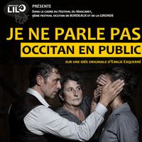 Je ne parle pas occitan en public
