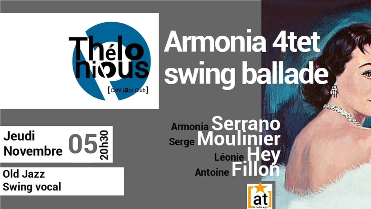 ARMONIA 4TET SWING BALLADE