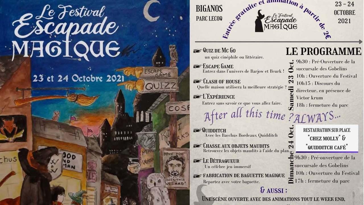 Festival Escapade Magique 2021