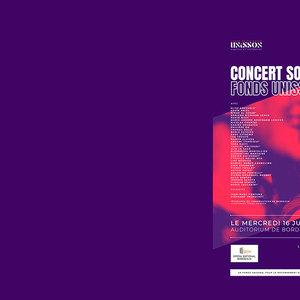 Concert Solidaire Fonds UNISSON