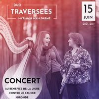 Duo flûte et harpe Ensemble Traversées