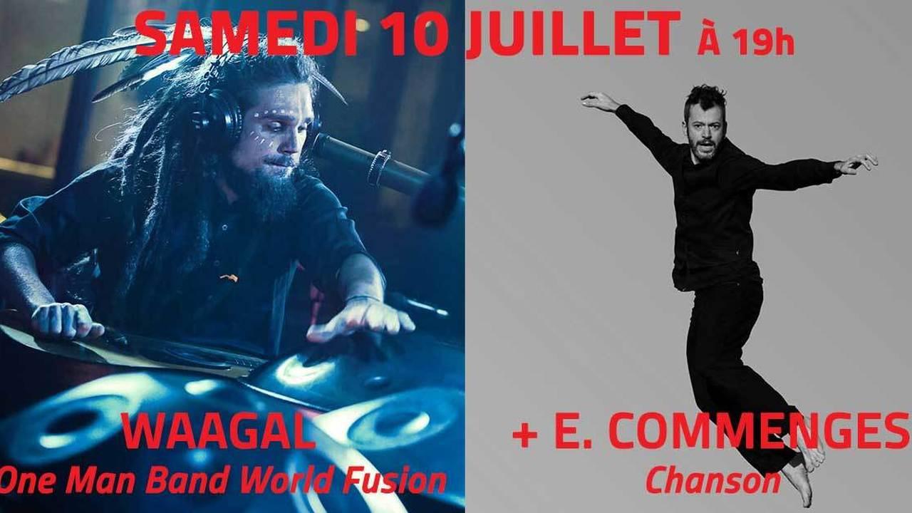 Waagal + Emmanuel Commenges