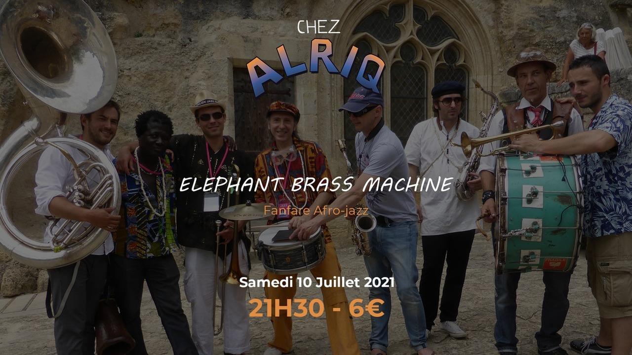 ELEPHANT BRASS MACHINE - FANFARE AFRO-JAZZ