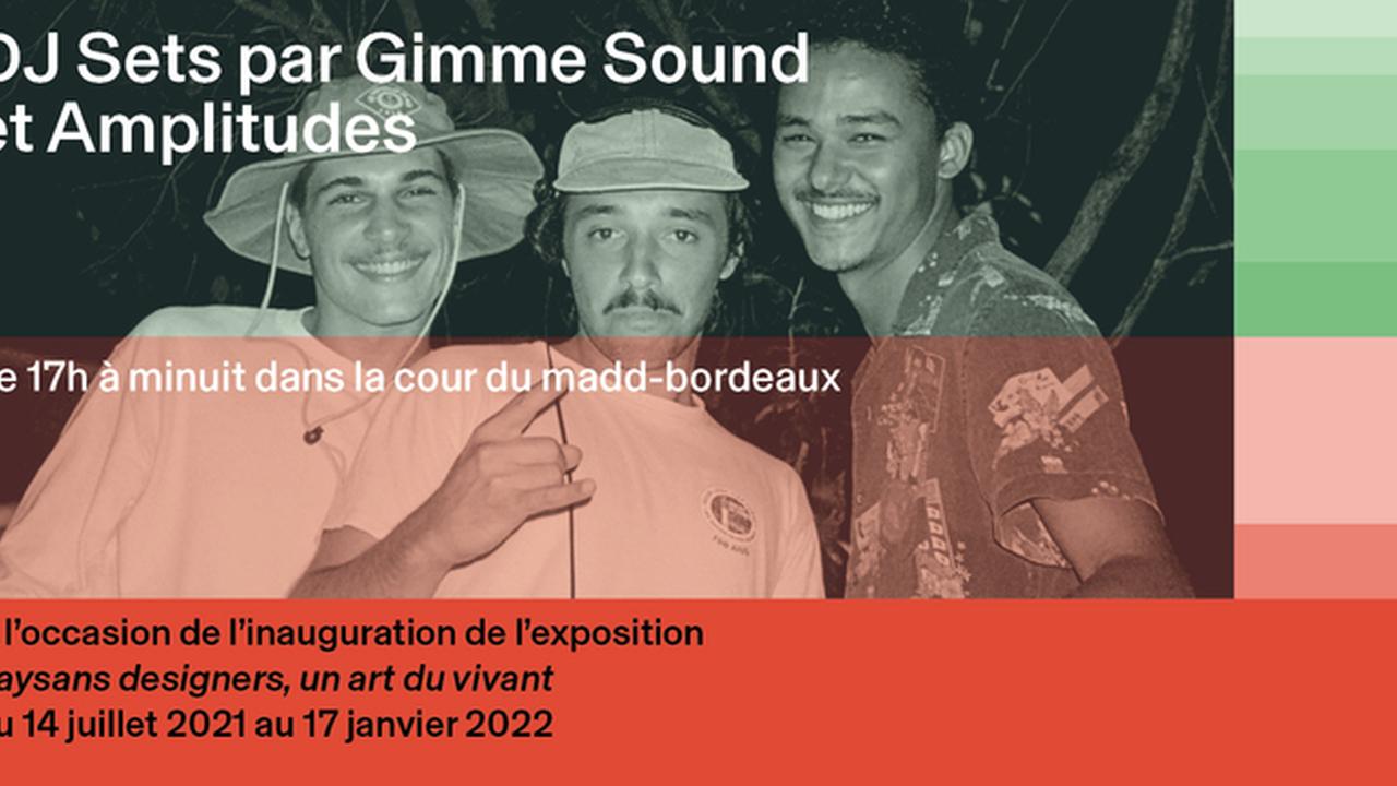 DJ Sets par Gimme Sound et Amplitudes