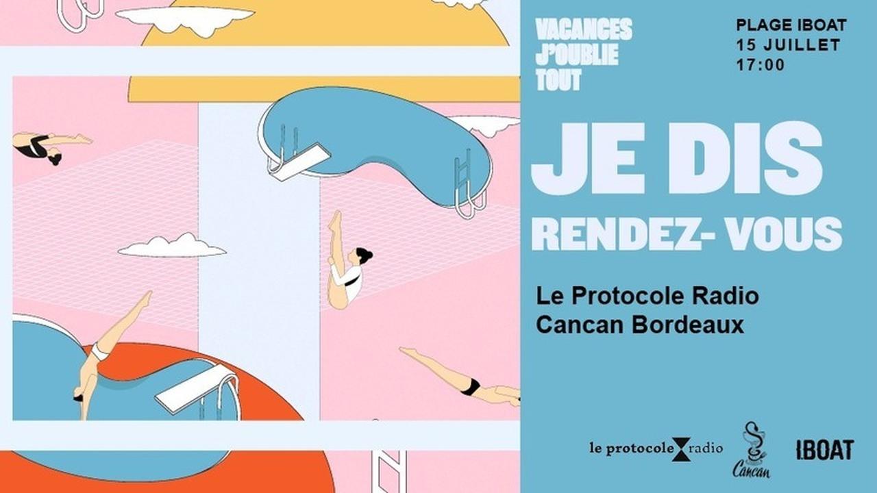 Je Dis Rendez-Vous : Le Protocole Radio & Cancan Bordeaux