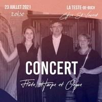 Trio flûte harpe et orgue / Ensemble Traversées