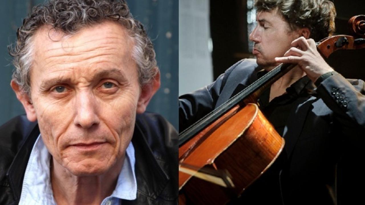 SONS CROISÉS - Pierre Baux (voix) & Vincent Courtois (violoncelle) par la Compagnie Sons vifs