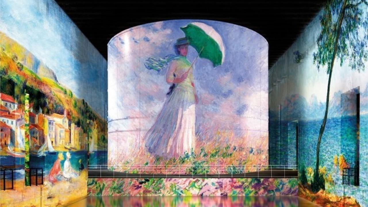 Monet, Renoir, Chagall... Voyages aux Bassins de Lumières