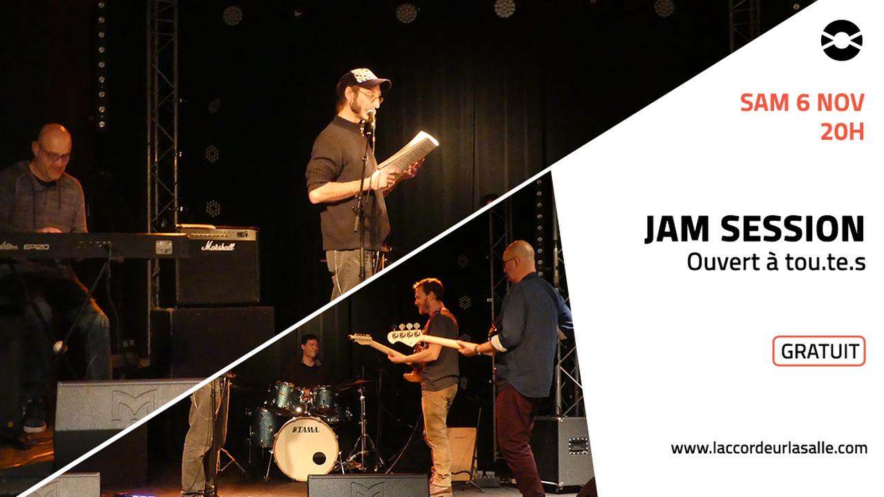 Jam session / Bœuf musical ouvert à tou.te.s