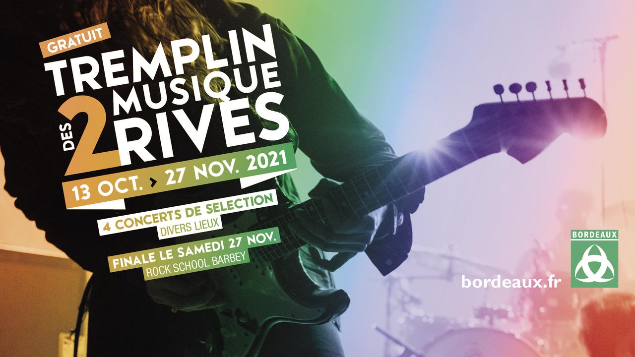 Tremplin Musique des 2 Rives  Demi-Finale Zone 3