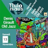 Denis Girault Old Jazz Project invite Hippolyte Fevre